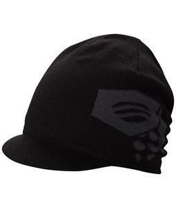 Mountain Hardwear Logo Brim Beanie Black/Graphite
