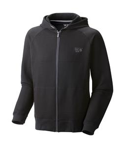 Mountain Hardwear MHW Logo Full Zip Hoodie Black
