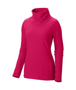 Mountain Hardwear Microchill Cowlneck Pullover Fleece Bright Rose