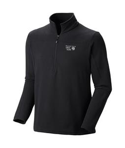 Mountain Hardwear Microchill Lite Zip Fleece Black