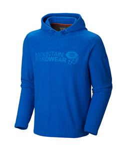 Mountain Hardwear Microchill Pullover Hoody Fleece Azul