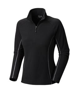 Mountain Hardwear Microchill Zip T Fleece Black