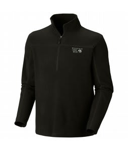 Mountain Hardwear Microchill Zip-T Fleece Black