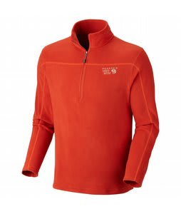 Mountain Hardwear Microchill Zip-T Fleece Russet Orange