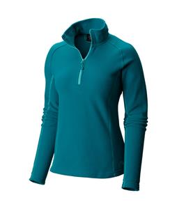 Mountain Hardwear Microchill Zip T Fleece Emerald