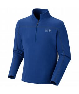 Mountain Hardwear Microchill Zip-T Fleece Royal