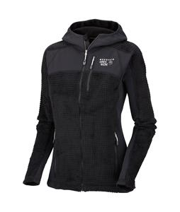 Mountain Hardwear Monkey Woman Grid Fleece Black