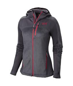 Mountain Hardwear Monkey Woman Grid Fleece Graphite/Bright Rose