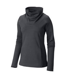 Mountain Hardwear Pandra Ponte Cowlneck Pullover Shirt Graphite