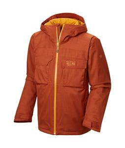 Mountain Hardwear Powzilla Insulated Ski Jacket Dark Adobe