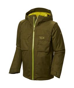 Mountain Hardwear Powzilla Insulated Ski Jacket Utility Green