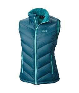 Mountain Hardwear Ratio Down Vest Blue Forest