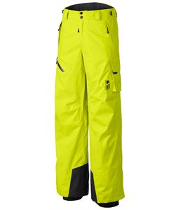 Mountain Hardwear Returnia Cargo Ski Pants Safety Yellow