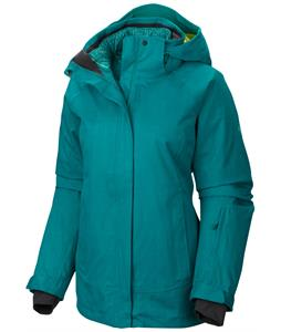 Mountain Hardwear Snowburst Trifecta Ski Jacket Mayan Green