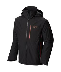 Mountain Hardwear Snowpulsion Insulated Ski Jacket Black/Dark Adobe