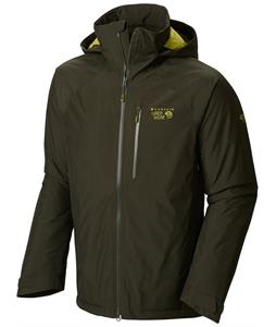 Mountain Hardwear Snowpulsion Insulated Ski Jacket Greenscape