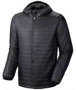 Mountain Hardwear Thermostatic Hooded Jacket Black
