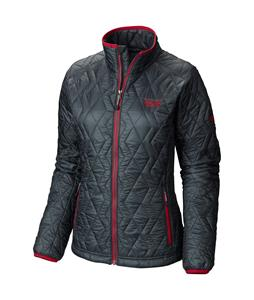 Mountain Hardwear Thermostatic Jacket Graphite/Bright Rose