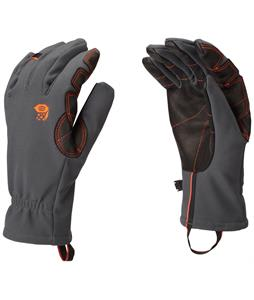 Mountain Hardwear Torsion Gloves Shark/State Orange