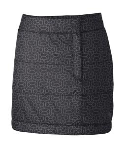 Mountain Hardwear Trekkin Printed Skirt Black