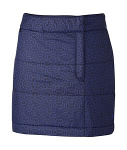 Mountain Hardwear Trekkin Printed Skirt Ebony Blue