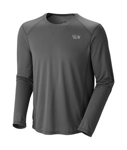 Mountain Hardwear Wicked Lite L/S Shirt Titanium