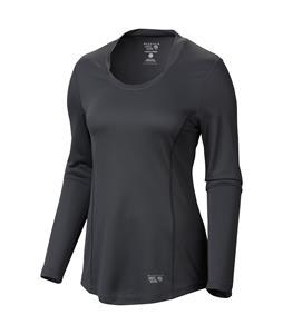 Mountain Hardwear Wicked Lite L/S Shirt Graphite