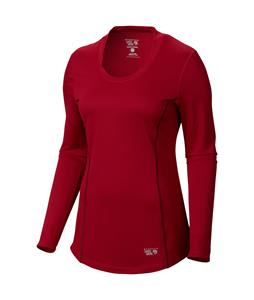 Mountain Hardwear Wicked Lite L/S Shirt Pomegranate