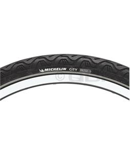 Michelin City Bike Tire Black Reflective Strip 700X32C