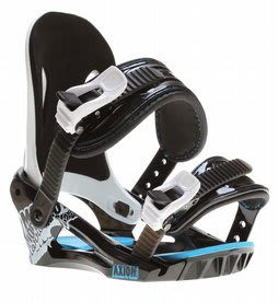 Morrow Axiom Snowboard Bindings Black