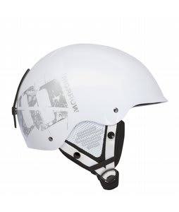 Morrow Peak Snowboard Helmet White