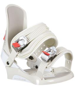 Morrow Wildflower Snowboard Bindings Off White
