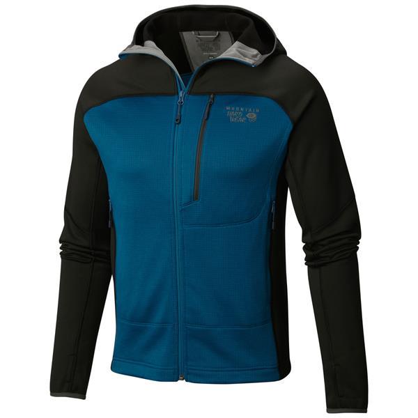 Mountain Hardwear Desna Grid Hooded Fleece
