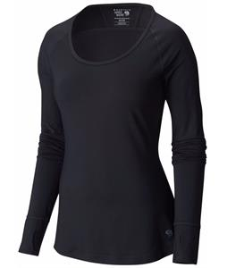 Mountain Hardwear Butterlicious L/S Crew Baselayer Top