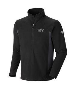 Mountain Hardwear Microchill Tech Zip T Fleece Black