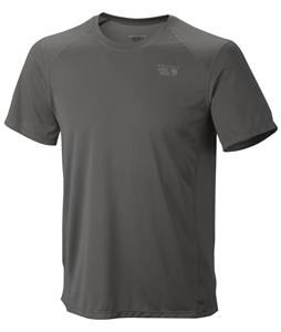 Mountain Hardwear Wicked Lite T-Shirt Titanium