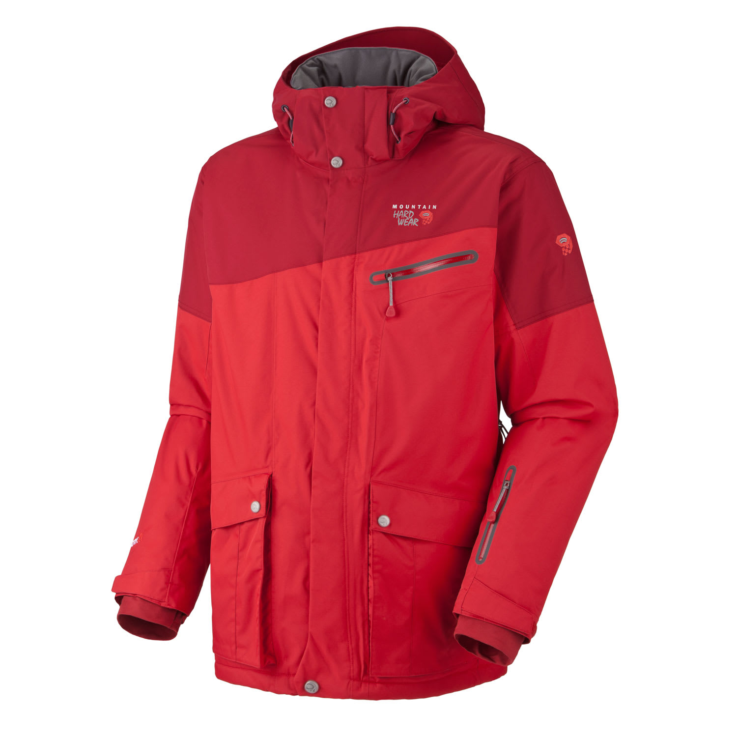 Shop for Mountain Hardwear Automator Ski Jacket Red/Thunderbird Red - Men's