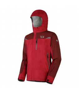 Mountain Hardwear Stretch Cohesion Tech Shell Jacket Thunderbird Red/Red