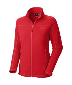 Mountain Hardwear MicroChill Jacket Fleece Red Hibiscus