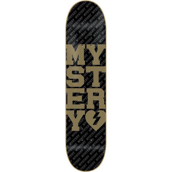 Mystery Varsity Gold Skateboard