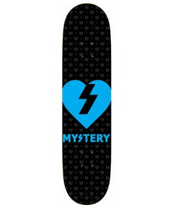 Mystery Heart Skateboard Blue