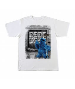 Neff Art Monster T-Shirt White