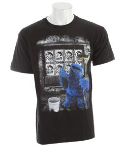 Neff Art Monster T-Shirt Black