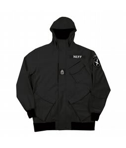 Neff Assault Softshell Jacket Black