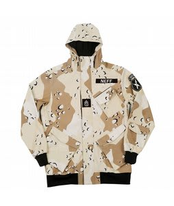 Neff Assault Softshell Jacket Sahara Camo
