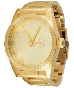 Neff Baller Fitted Watch Gold