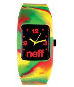 Neff Bandit Watch Rasta Swirl