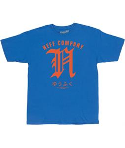 Neff Bizaz T-Shirt Royal