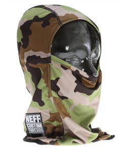Neff Camo Balaclava Facemask Camo