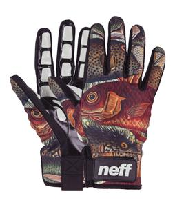 Neff Chameleon Pipe Gloves Fishes